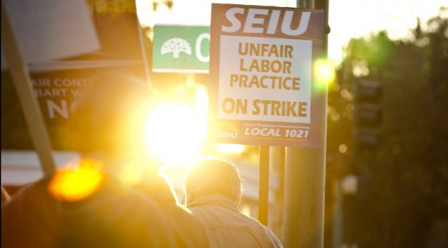 Images of the BART Strike: The Workers and the Commuters