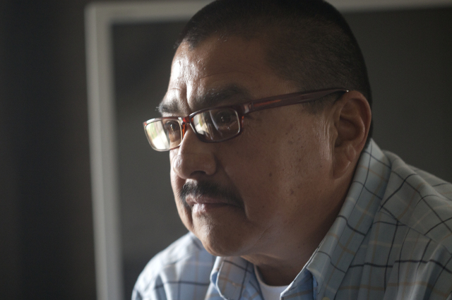 Pete Marin served 18 years for petty theft. (Adithya Sambamurthy/The Center for Investigative Reporting)