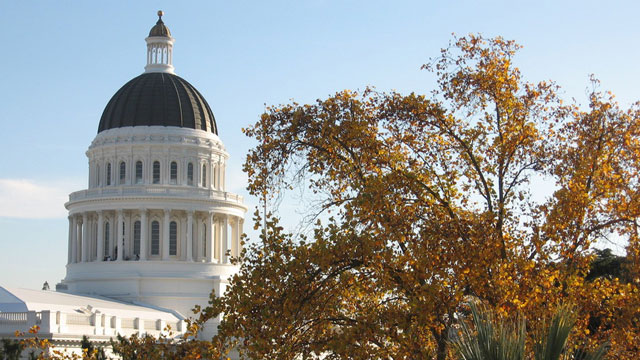 Sacramento Capitol Dome. Craig Miller/KQED