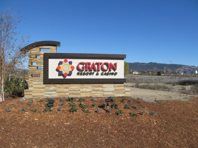 Graton Resort and Casino is Northern California's largest tribal casino and cost $800 million. (Stephanie Martin/KQED)