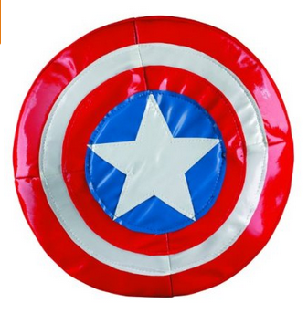 The lead in the Captain America Soft Shield poses chronic health hazards to children.