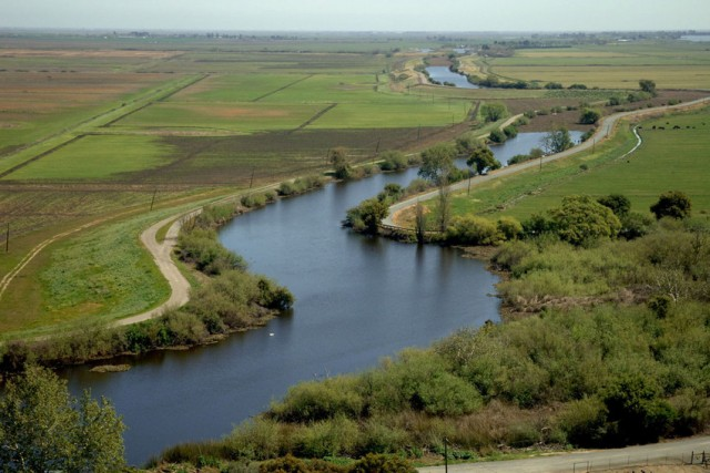 Part of the Sacramento-San Joaquin Delta. (California Department of Water Resources).