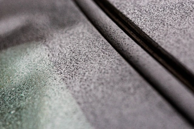 Actual Bay Area raindrops pictured during their last local appearance on Jan. 11.  (Dan Brekke/KQED)