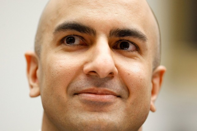 Republican Neel Kashkari, former official with the U.S. Treasury's Troubled Asset Relief Program, declared Tuesday he's running for governor. (Chip Somodevilla/Getty Images)