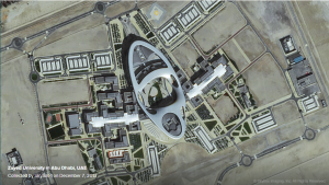 Zayed University in Abu Dhabi, UAE. Collected by Skybox Imaging's SkySat-1 on Dec. 7, 2013.