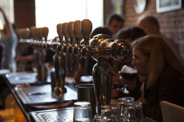 The Trappist in Oakland: one of the many spots that are part of a renaissance in craft beer appreciation . (Colin Burke McClure/Berkeleyside)
