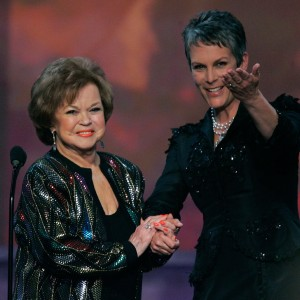 Actress and diplomat Shirley Temple Black with Jamie Lee Curtis at 2006 Screen Actors Guild Awards. (Kevin Winter/Getty Images)