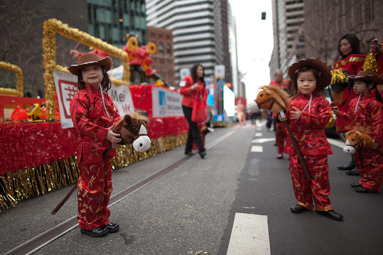 chinese new year chinese new year parade 2014 children from san franciscos - San Francisco Chinese New Year