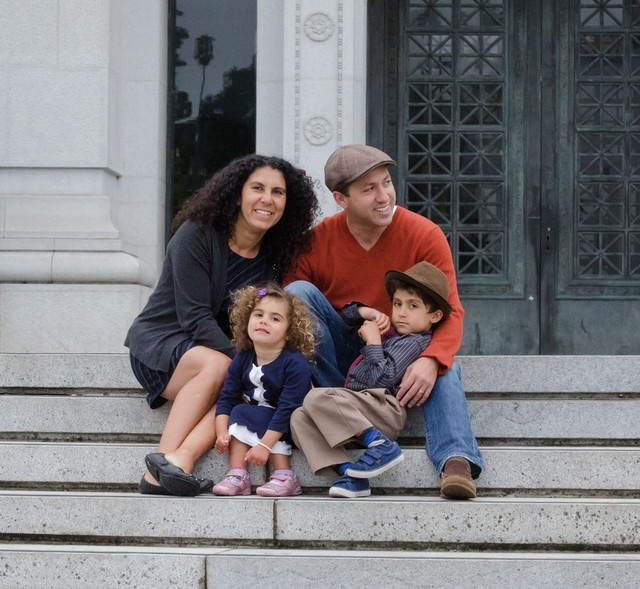 Mohammed Shamma is an Egyptian American Muslim living in Berkeley, California with his wife Heidi and two children. He says he'll be teaching his children his version of Islam, where it's OK to date and be in sexual relationships. (Photo courtesy of Mohammed Shamma)