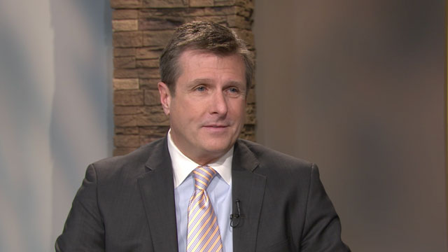 Golden State Warriors' President and COO Rick Welts spoke with KQED's Scott Shafer on Feb. 20, 2014. (KQED News)
