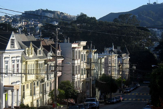 In-law units are common throughout San Francisco. Photo: Jon Starbuck/Flickr