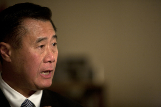 State Senator Leland Yee (Adithya Sambamurthy/ The Center for Investigative Reporting)