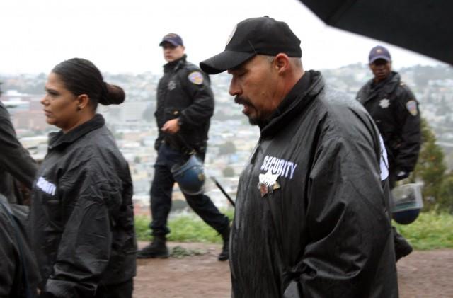 3/29/2014 March for Alejandro Nieto Security 1