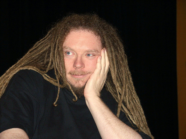 "Jaron Lanier, author of ""Who Owns the Future,"" says that despite his reservations about how the World Wide Web is playing out, he's still an optimist. (JD Lasica/Flickr)"