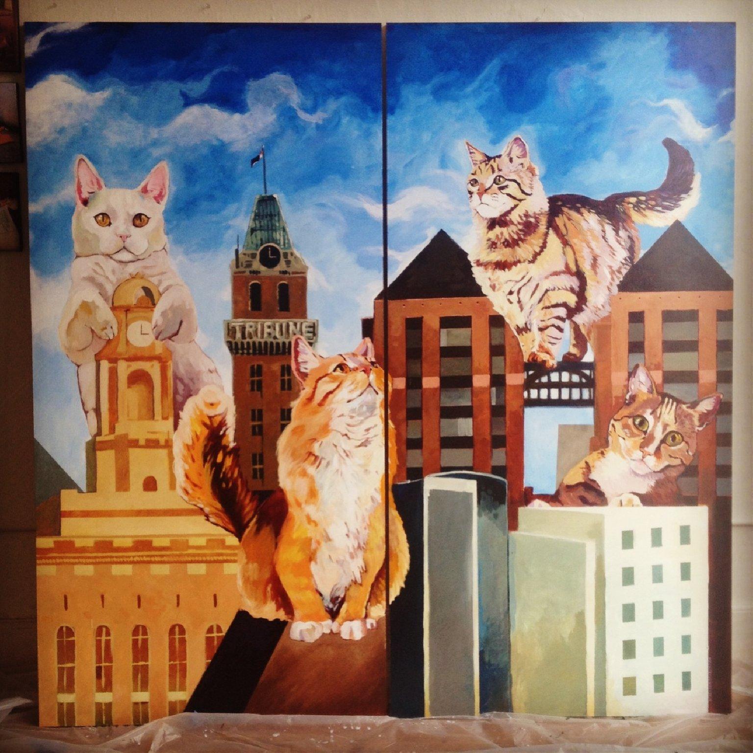 Cat Town Cafe San Francisco