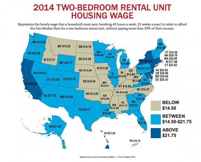 A nationwide view of housing affordability. (National Low Income Housing Coalition)
