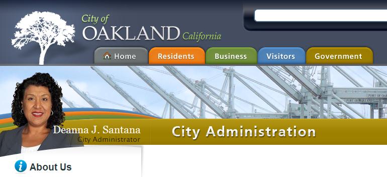 Oakland City Administrator Deanna Santana Resigns