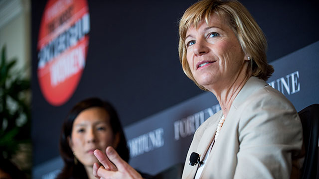 Susan Desmond-Hellmann, chancellor of UCSF, at a 2012 Fortune Magazine event. (Stuart Isett/Fortune)
