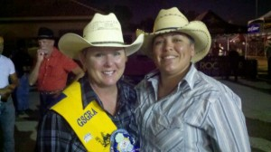 Judy James and Deanna Trujillo-James both promote and compete in the gay rodeo circuit. Photo: courtesy of Deanna Trujillo-James