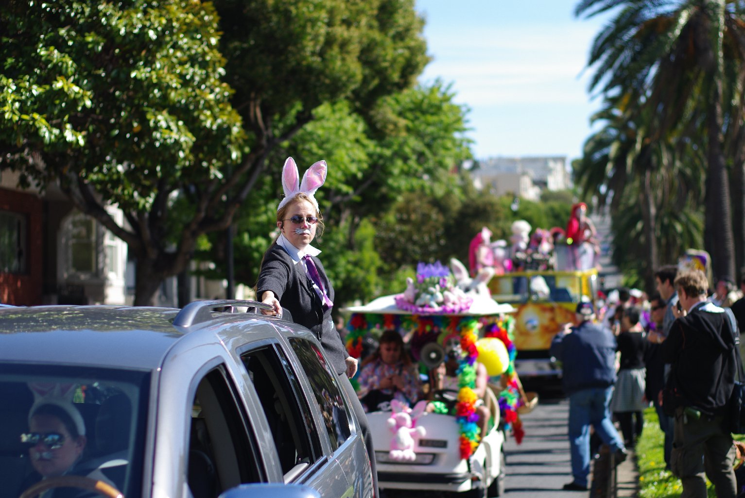 Easter, Earth Day, Cherry Blossoms and 420: How to Get Around SF This Weekend