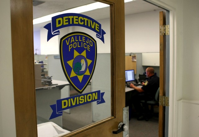 File photo of the Vallejo Police Department. (Justin Sullivan/Getty Images)