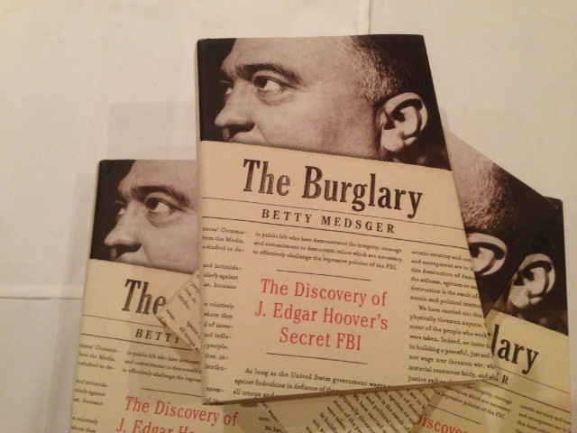 This book by Betty Medsger examines a 1971 burglary of the FBI office in Media, Pa. (Patricia Yollin/KQED)