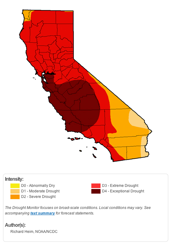 CaliforniaDdrought