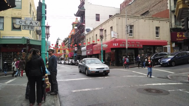 San Francisco's Chinatown was quiet on Saturday, March 29, 2014, just days after the FBI raided a neighborhood association there. Some Chinese-Americans worry that the arrests of California state senator Leland Yee and alleged gangster Raymond Chow cast a negative light on their community. (Vinnee Tong/KQED)