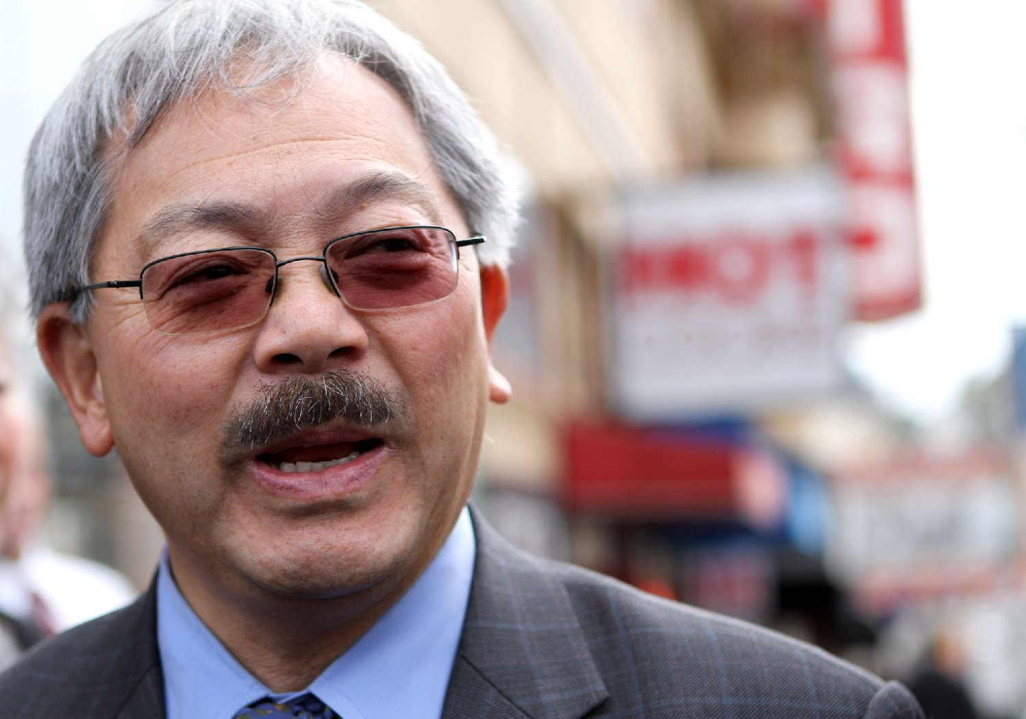 "San Francisco Mayor Ed Lee appeared on KQED's ""Forum"" show on Monday morning. (File photo by Michelle Gachet/KQED)"