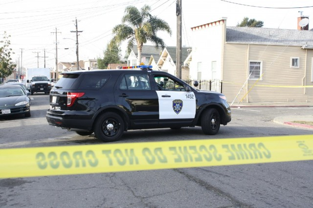 Three of the top five U.S. cities in police shootings per capita are in the Golden State. (Alex Emslie/KQED)