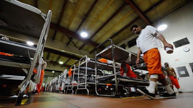 California's Chino State Prison. (Kevork Djansezian/Getty Images)