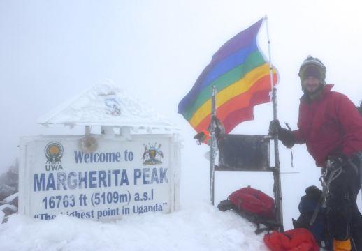 Bay Area Man Plants Rainbow Flag on Tallest Mountain in Uganda