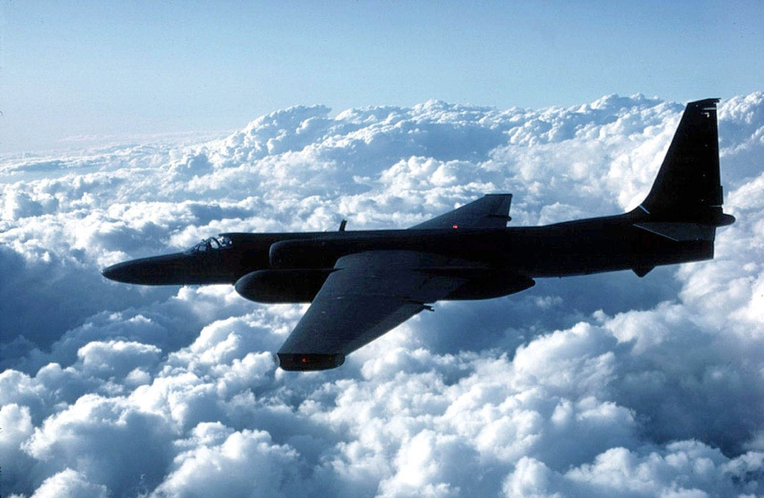 Reports say a U-2 spy plane's flight across Southern California last week may have played a part in a partial airport shutdown last week. (U.S. Air Force via Getty Images)