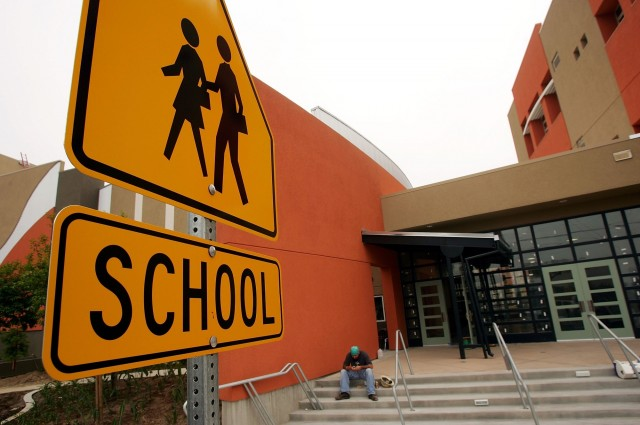 The 2014-2015 school year will see reforms to funding and curriculum for California schools. (David McNew/Getty Images)