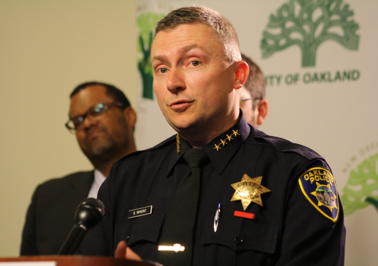 Oakland Police Chief Sean Whent took office as interim chief a few weeks before OPD's last officer involved shooting in May 2013. He took the post permanently a year later.