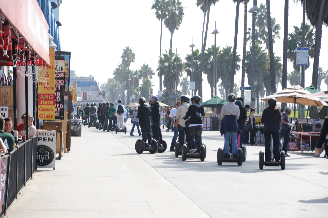 Segways a Menace on Venice Boardwalk? L.A. City Council Issues Ban