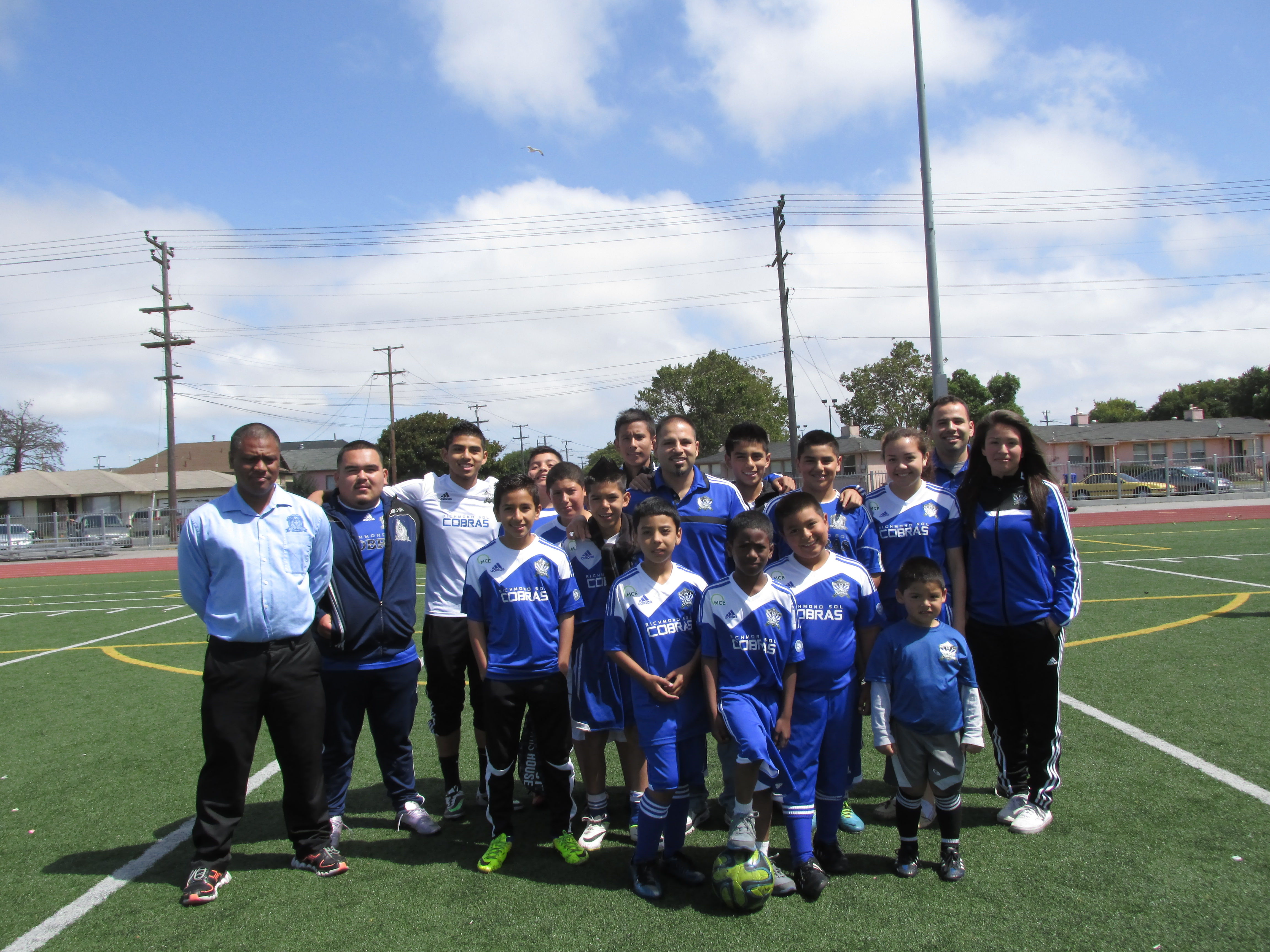 Richmond Soccer League's Young Players Dream of the World Cup