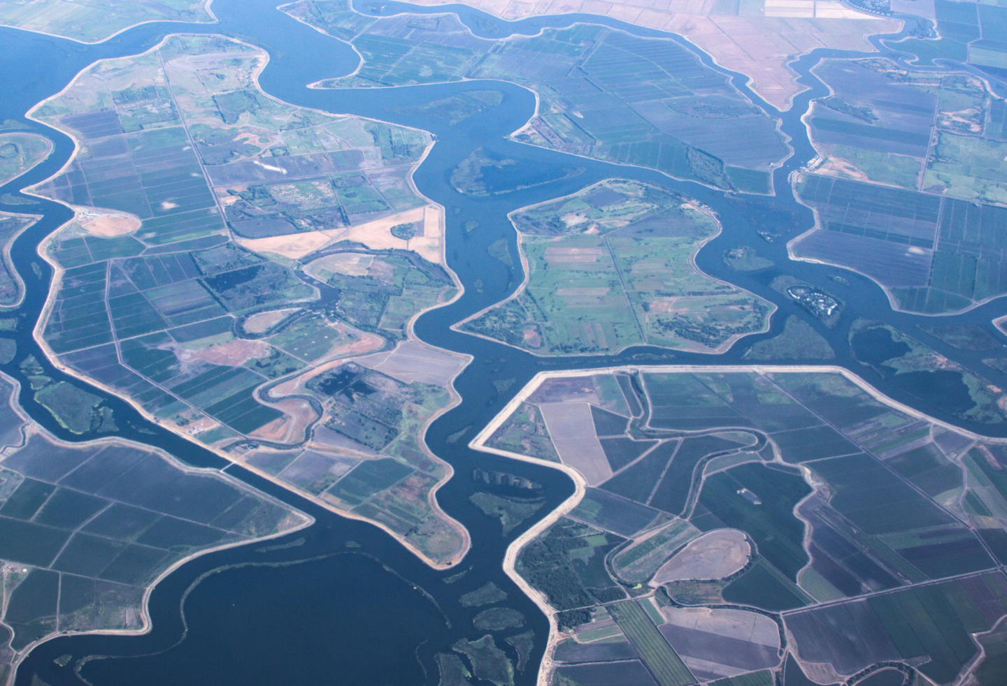 The Sacramento-San Joaquin Delta has been almost completely transformed over the past 150 years. (Dan Brekke/KQED)