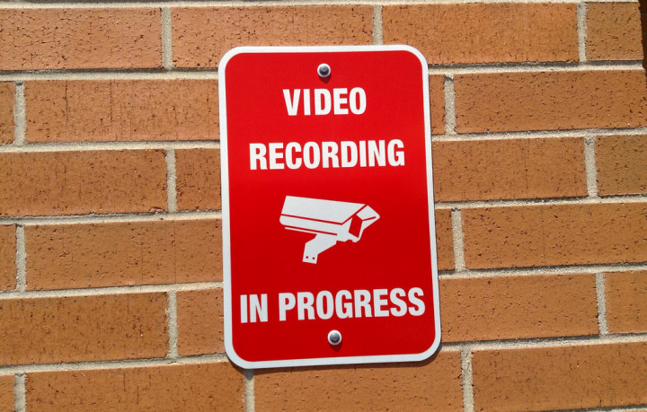 Some officials would like residents and business owners to be able to put their security camera locations into a police database. (Mike Mozart/Berkeleyside)