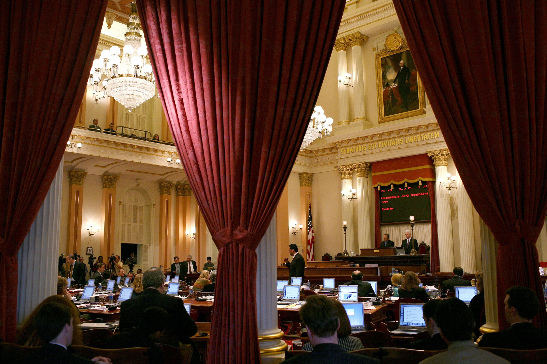 California's state Senate is under new leadership in 2015. (Justin Sullivan/Getty)