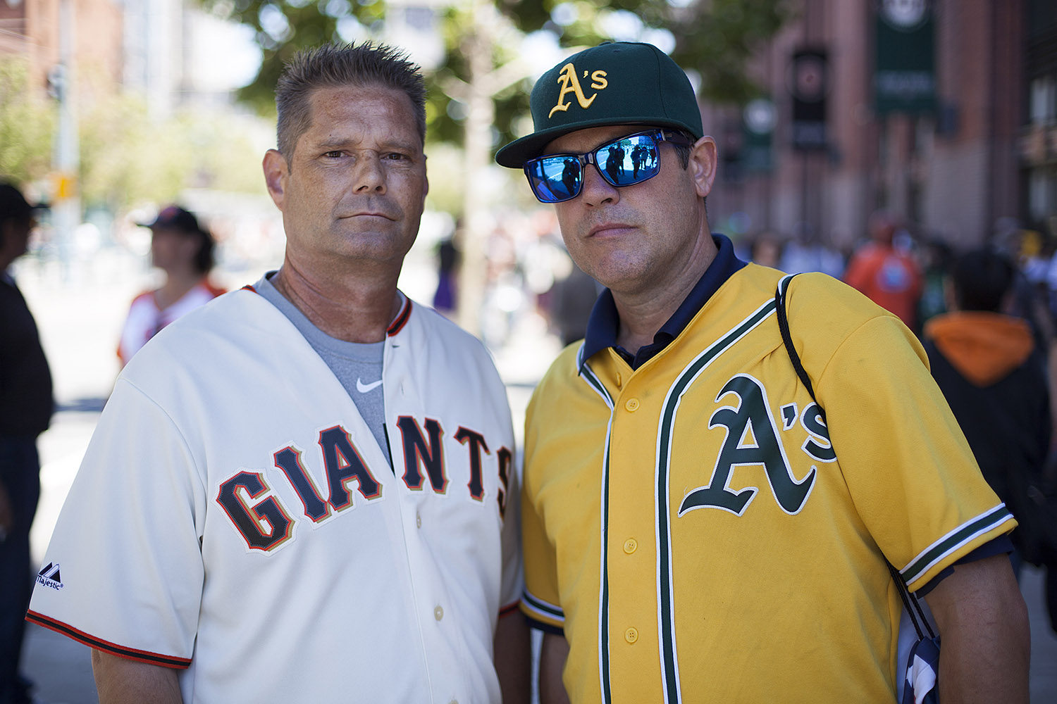 It's A's Over Giants, and the Fans React