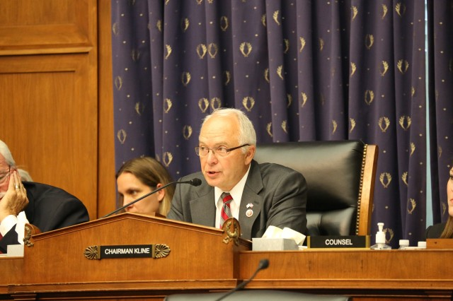 John Kline is a Republican congressman from Minnesota. (Photo courtesy of House Committee on Education and the Workforce)