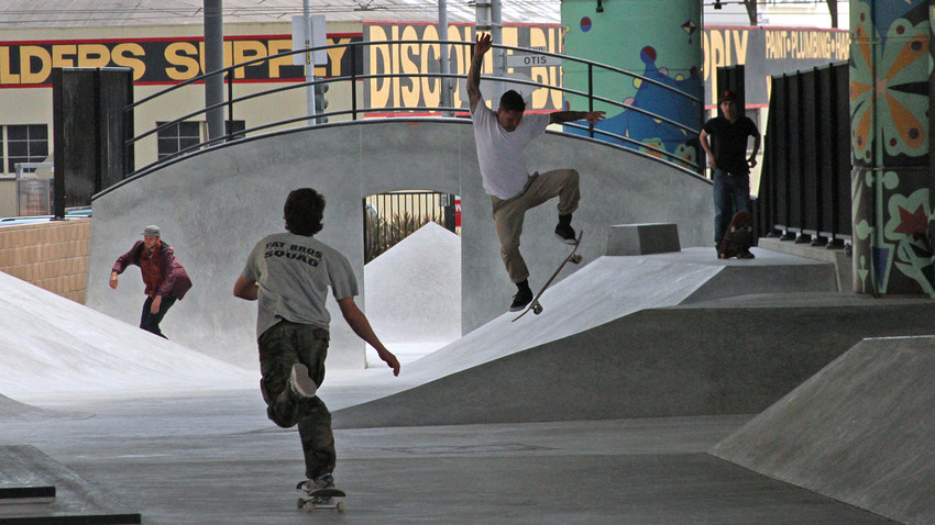 A San Francisco Skatepark Opens in Shadow of Central Freeway