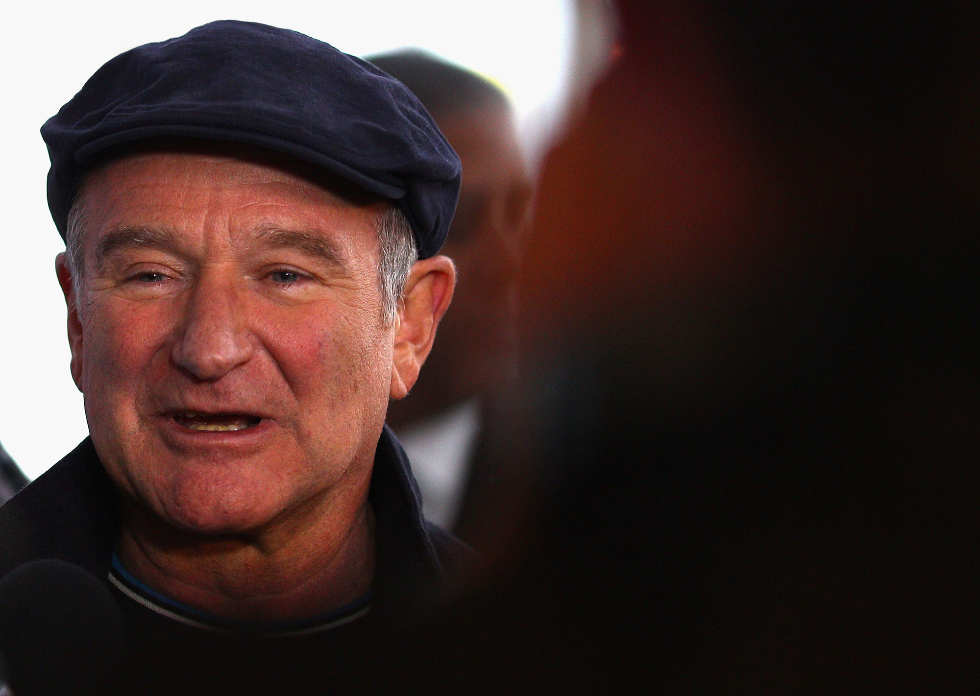 The late Robin Williams, pictured in 2004. ( Ryan Pierse/Getty Images)