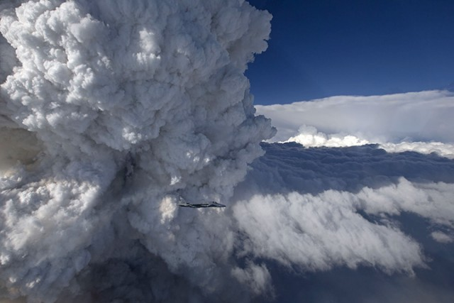 Stunning 'Fire Cloud' Photos From California-Oregon Border