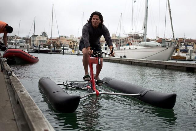 Judah Schiller, Waterbike