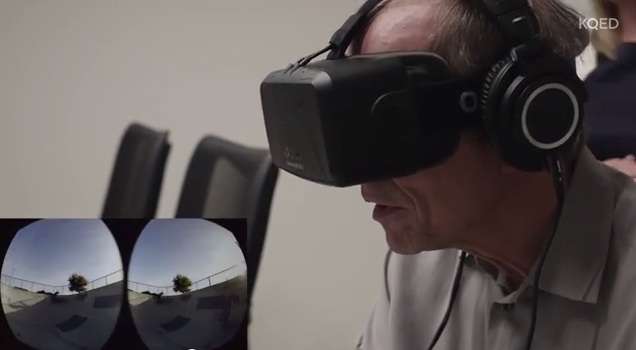 KQED 'Forum': Michael Krasny Ventures Into Virtual Reality