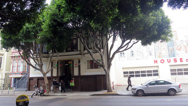 Fourplex owned by Virginia Ramos: aka The Tomale Lady. (Lydia Chavez/Mission Local)