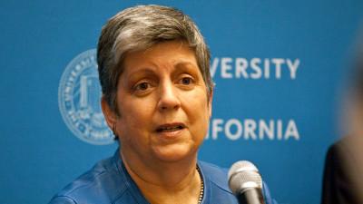 UC President Janet Napolitano (Deborah Svoboda/KQED)