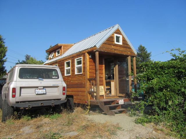 Tiny houses are becoming more popular across the U.S., and Sonoma County is a hotbed of interest. (Stephanie Martin Taylor/KQED)